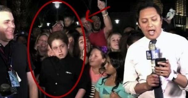 This Kid Showed Off His Fierceness On Live TV And Now He's A Viral Sensation
